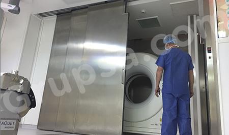 Puerta Automática HS-260T para Gantry Deslizante CT
