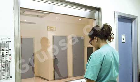 Ventana de Observación para Quirófanos y Salas de Radiología