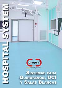 puertas quirofano hospital uci