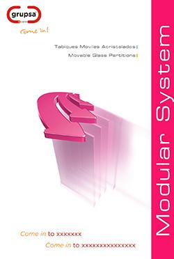 Mamparas divisorias Catálogo